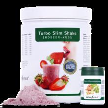 Turbo Slim Shake Erdbeer-Kuss - 560 g